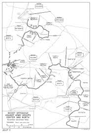 Battle Of Kursk Map Hyperwar Stalingrad To Berlin The German Defeat In The East