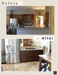 Kitchen Remodel Before And After by Flip House 1960s Kitchen Before And After A Major Kitchen