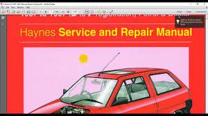 citroen ax 1987 1997 manual repair haynes youtube