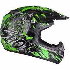 monster motocross helmet shox mx 1 nightmare motocross atv quad off road pit bike moto x