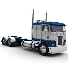 kenworth k100 truck sbfa 3d lwo