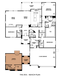 Floor Plans For Ranch Style Homes 100 Single Level Home Plans 36 Single Level House Plans For
