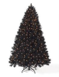 4 ft black clear lit tree tree market