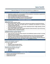 Template Professional Resume Professional Resume Templates Resume Exle