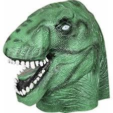 Jurassic Park Halloween Costume Amazon Jurassic Park Rex Halloween Costume Mask Clothing