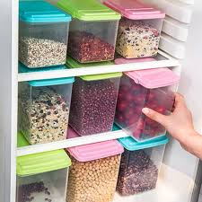 Clear Plastic Kitchen Canisters Simple Storage Ideas To Organize Your Kitchen Right Now Written