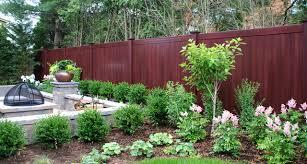 New Backyard Ideas by Amazing Of Backyard Fence Landscaping Ideas Backyard Fence