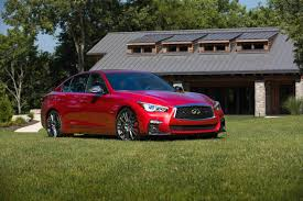 2018 infiniti q50 red sport 400 review the drive