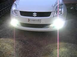 hid lights for classic cars 8000k hid on swift fog lights youtube