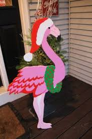pink flamingo tropical christmas holiday printables party