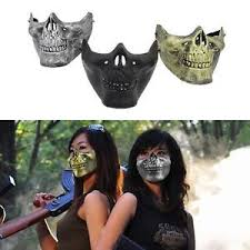 Halloween Motorcycle Costume Costume Halloween Party Airsoft Skull Mask Motorcycle Skeleton