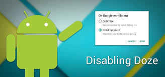 apps android android basics how to disable doze app standby for individual