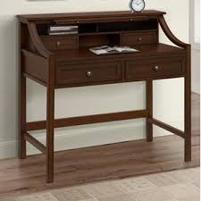 Desk Compartments Secretary Desks You U0027ll Love Wayfair