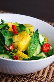 best 25 pineapple salad ideas on pinterest easy cucumber salad