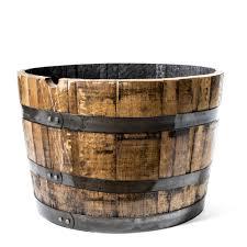 horizontal half barrel planter motor city barrels