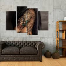 buddha tattoo multi panel canvas wall art u2013 elephantstock