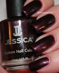 jessica nail polish spam and swatches set in lacquer