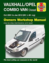 vauxhall opel combo van diesel 2001 to jan 2012 haynes manual