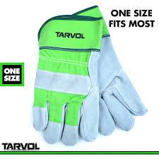 leather work gloves split leather design heavy duty industrial