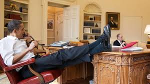 obama at desk obama we didn t have an embarrassing scandal cnn video