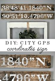 47 best pallet sign ideas images on pinterest pallet art pallet city gps coordinates sign