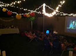 Backyard Movie Party caitlin u0027s backyard movie party new party collection supplies