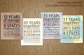 personalized anniversary gifts personalized anniversary gift your journey by the numbers