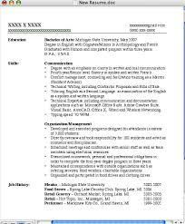 sample skills section resume resume skills examples information