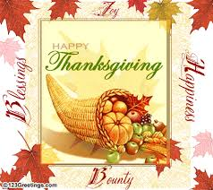 happiness blessings on thanksgiving free business greetings