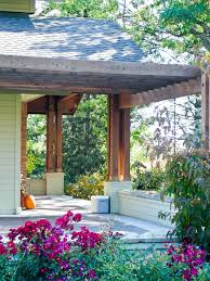 seattle front porch pergola craftsman with arbor arbors and