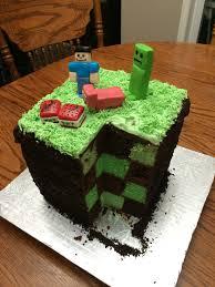 mindcraft cake my made a pretty cool minecraft cake for my s birthday