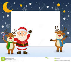 singing reindeer clipart clipartxtras
