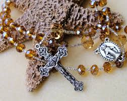 rosary bead necklace jewelry images Rosary bead necklace etsy jpg