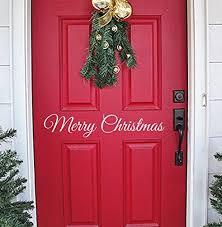 christmas decorations for front door amazon com
