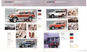 isuzu bighorn trooper brochure isuzu bighorn trooper pinterest