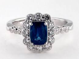 engagement rings with blue stones colored engagement rings and wedding rings wedding ring
