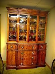 how to arrange a corner china cabinet 1900 1950 mahogany china cabinet curio vatican
