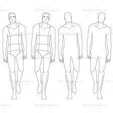male fashion croquis template croquis male pinterest