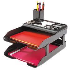 corporate desk tray set deflecto llc