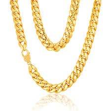 mens gold curb necklace images Mens solid 9ct gold cuban curb chain 22 inch 32 grams newburysonline jpg