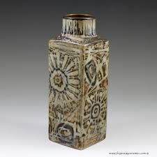 unusual vases royal copenhagen small baca vase from the sunflower series by nils