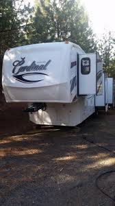 Forest River Cardinal Floor Plans Fifth Wheel Forest Rv 2009 Cardinal 5th Wheel Rvs For Sale