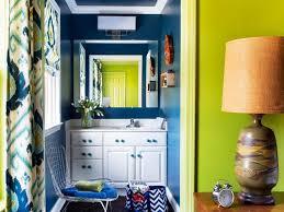 Hgtv Small Bathroom Ideas Colors Bold And Trendy Small Bathroom Makeover Hgtv