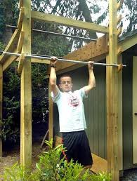 Backyard Ninja Warrior Course Finding His Inner Ninja Lifestyle Lancasteronline Com