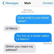 35 Hilarious Funny Texts Messages - so now rubio thinks he s got street cred no way pinterest