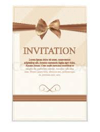 background birthday card template with ribbon and bow vector