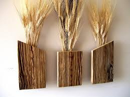 Wood Wall Sconce Catchy Vase Wall Sconce Set Of 3 Rustic Reclaimed Barn Wood Wall