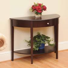 half oval console table half oval console table console tables ideas