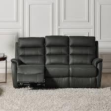 canapé cuir relax electrique 3 places canapé cuir 3 places relax électrique sofamobili