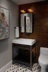 The Powder Room Chicago Stylish Bachelor U0027s Pad With Industrial Touches Digsdigs